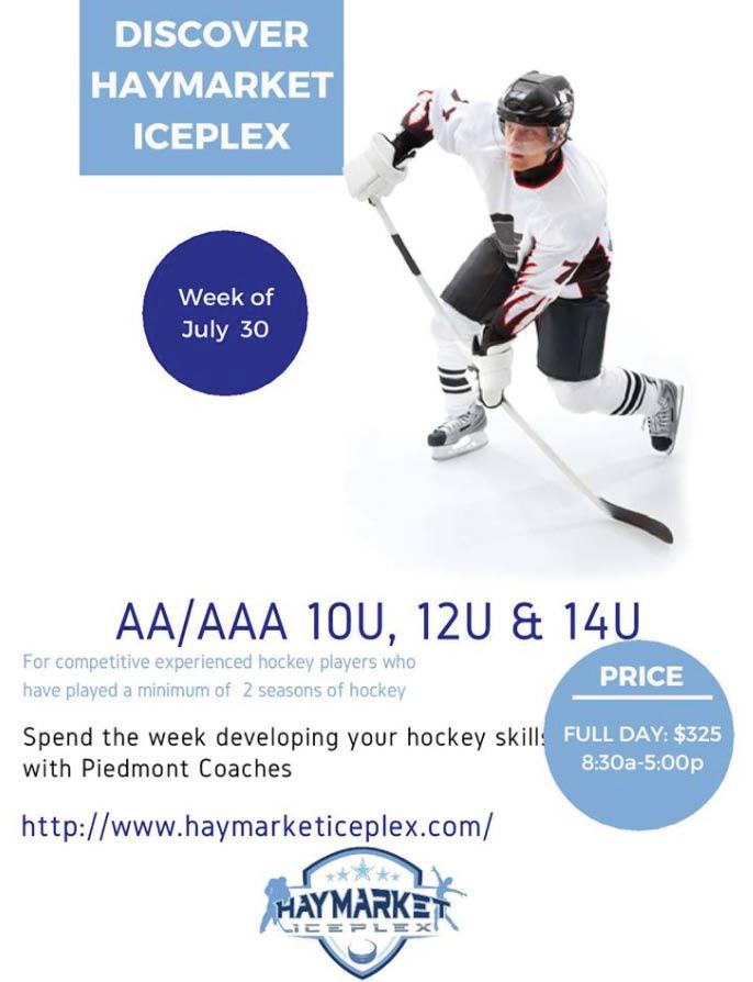 Hockey skills, learn to skate in Haymarket, VA