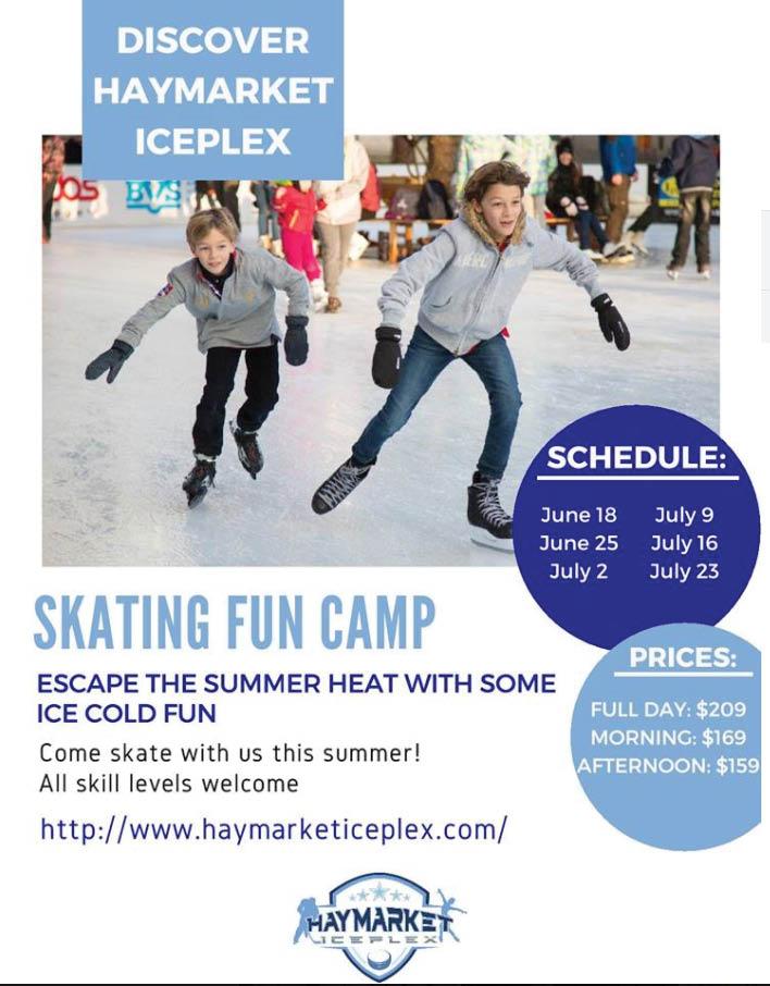 public skating in Haymarket, VA
