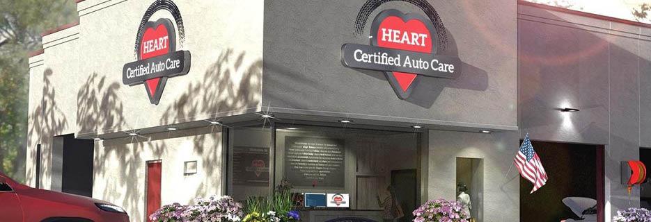 HEART Certified Auto Care in Wilmette, IL banner