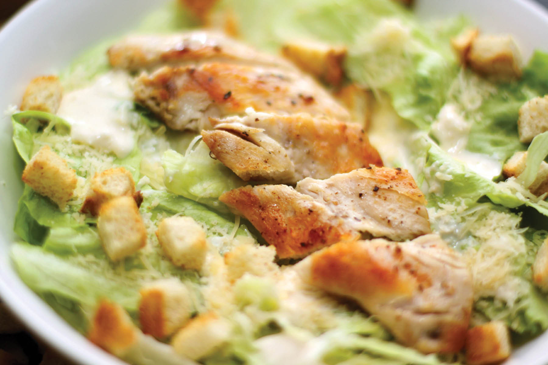 Heavenly Chicken and Ribs - Salad