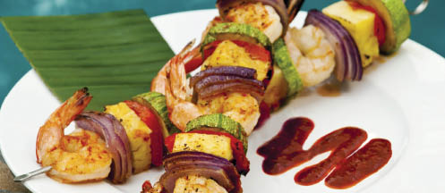 Cheap Shrimp kabob platter coupons