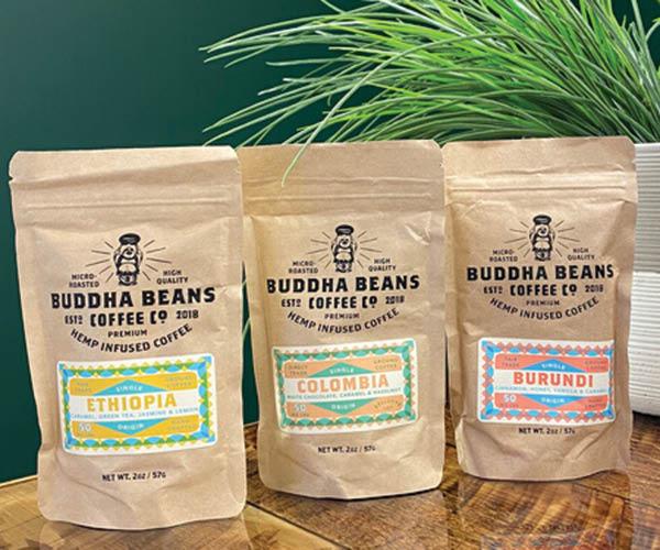 Buddha Beans hemp infused coffee