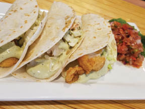 Fish Tacos at Henry's Place in Okemos, MI