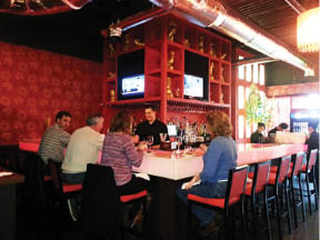 Relax in the full bar at Hibachi Grill Supreme Buffet in East Providence, RI.