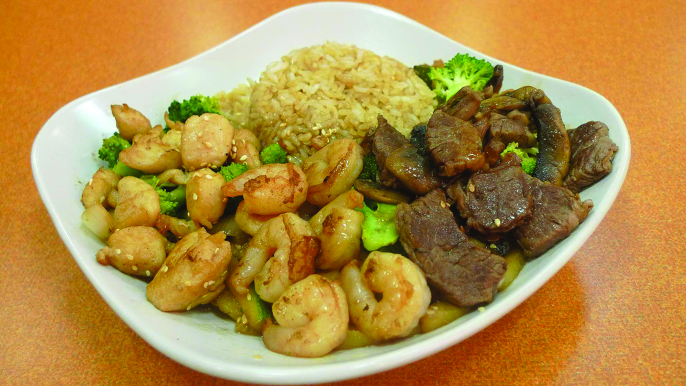 hibachi chicken shrimp and steak mandarin court rochester ny