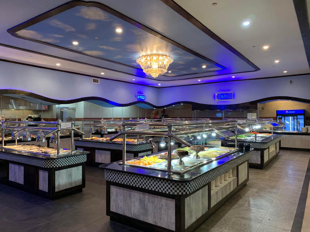 Asian food buffet, Falls Church, VA