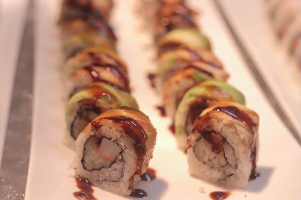 Nigiri, sashimi, sushi roll, Maki, Sashimi, Uramaki, Temaki, Ahi