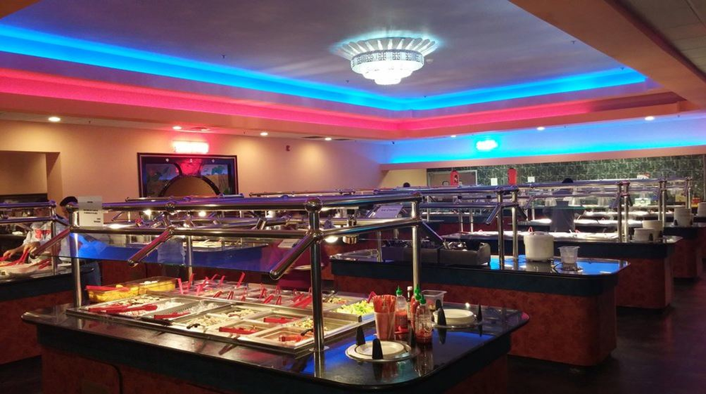 sushi,seafood,hibachi grill,lobster,dessert,ice cream,all you can eat buffet,munch buffet,asian buffet,BYOB