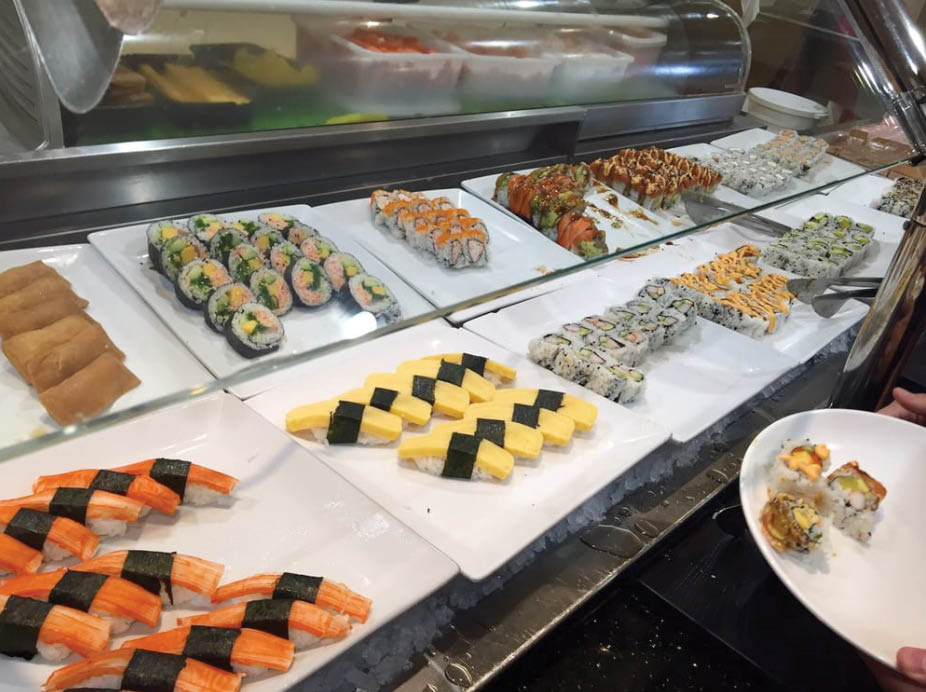 Sushi and other Japanese food near Artesia
