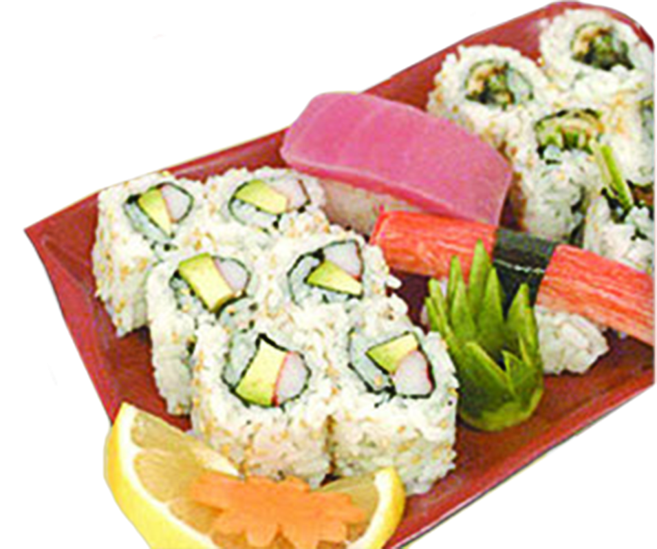 Great sushi and all types of Japanese and Asian Food Available