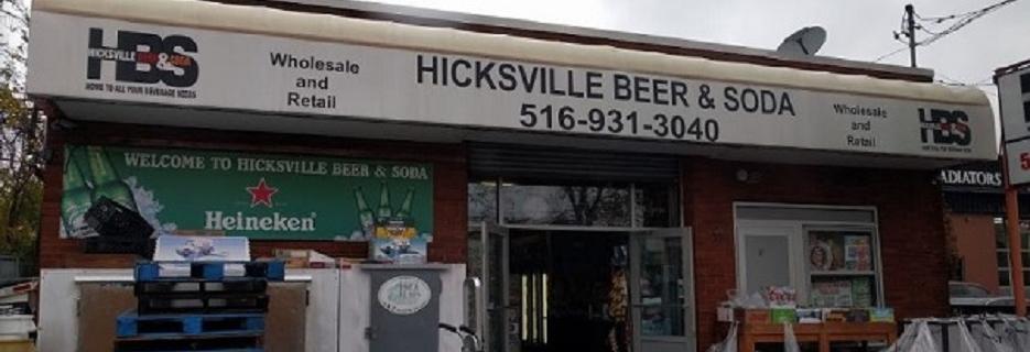 Hicksville Beer & Soda in Hicksville, NY banner