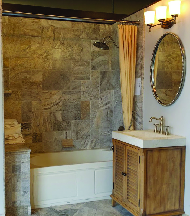Bathroom created by Hidalgo Brothers LLC in Wharton NJ