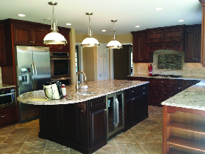 Kitchen created by Hidalgo Brothers LLC in Wharton NJ