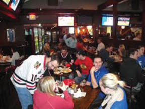 Enjoy a family and friends gathering at Hitz Pizza in Mundelein