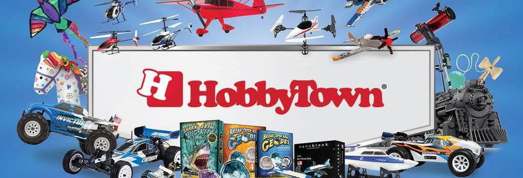 Hobby Town banner