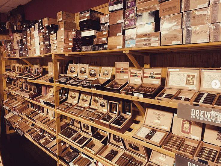 Cigar lounge in Fredericksburg, VA