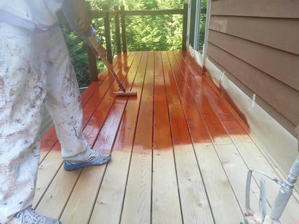Home Pros Painting & Deck Staining - professional deck staining - deck restoration - Seattle, WA