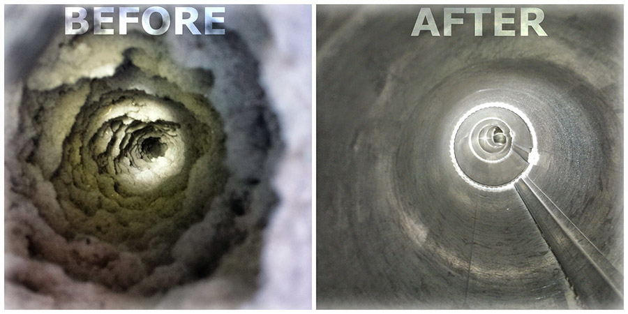 Prevent a house fire when Home Services Restoration cleans your dryer vent.