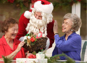 senior companion; home health care; comfort for the holidays; in-home caregiving