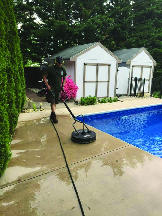 pressure washing pool hagerstown md