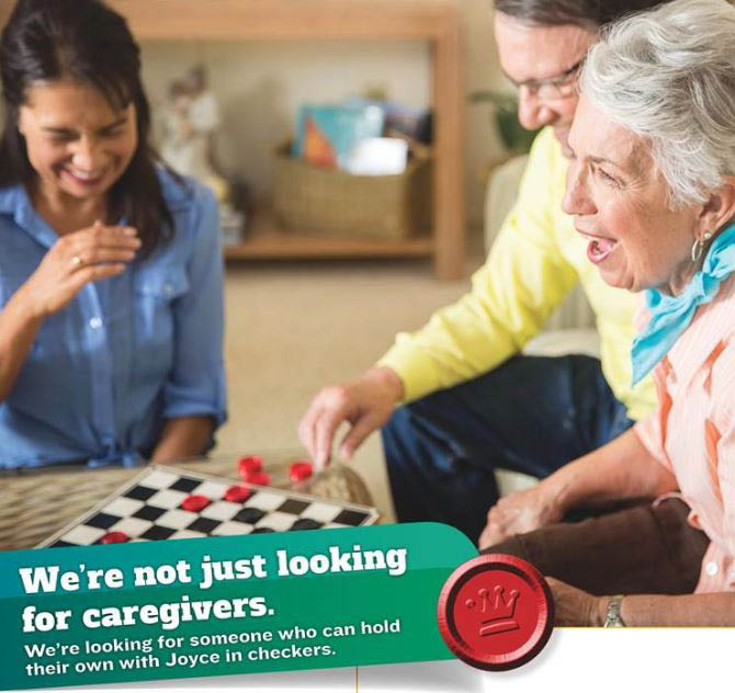 Provide companionship and care for an elderly person - in-home caregiver care - Homewatch CareGivers - Tacoma, WA