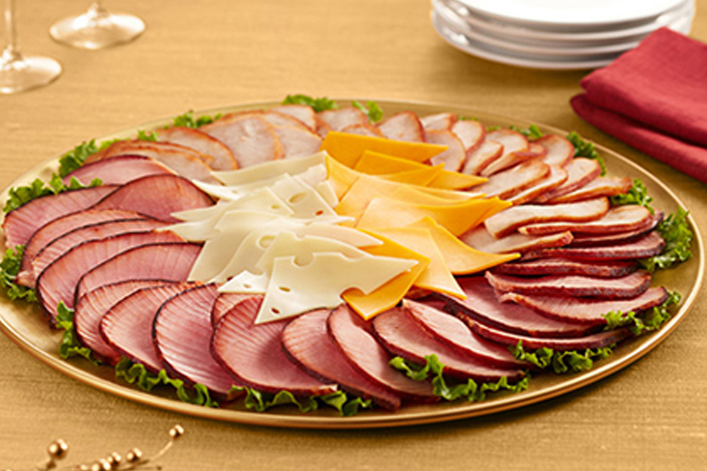 honeybaked ham platter, catering, honeybaked caters events