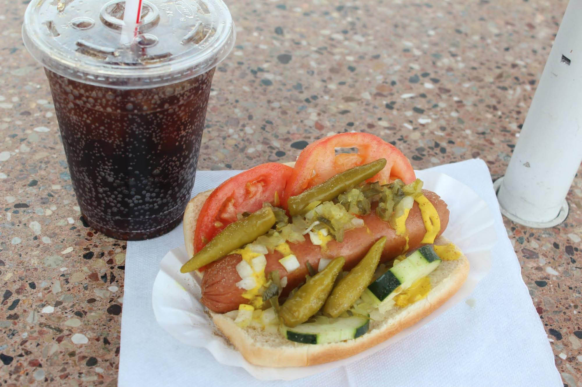 Classic Chicago Hot Dogs
