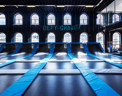 Picture of House of Boom Trampoline Park Gravity Jump Louisville KY