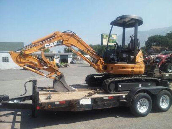 Excavator for rent from Howe Rents of Ogden. We offer equipment rental in South Ogden, North Ogden, Riverdale, West Haven, Roy, Sunset, Clinton, Layton, and Syracuse.