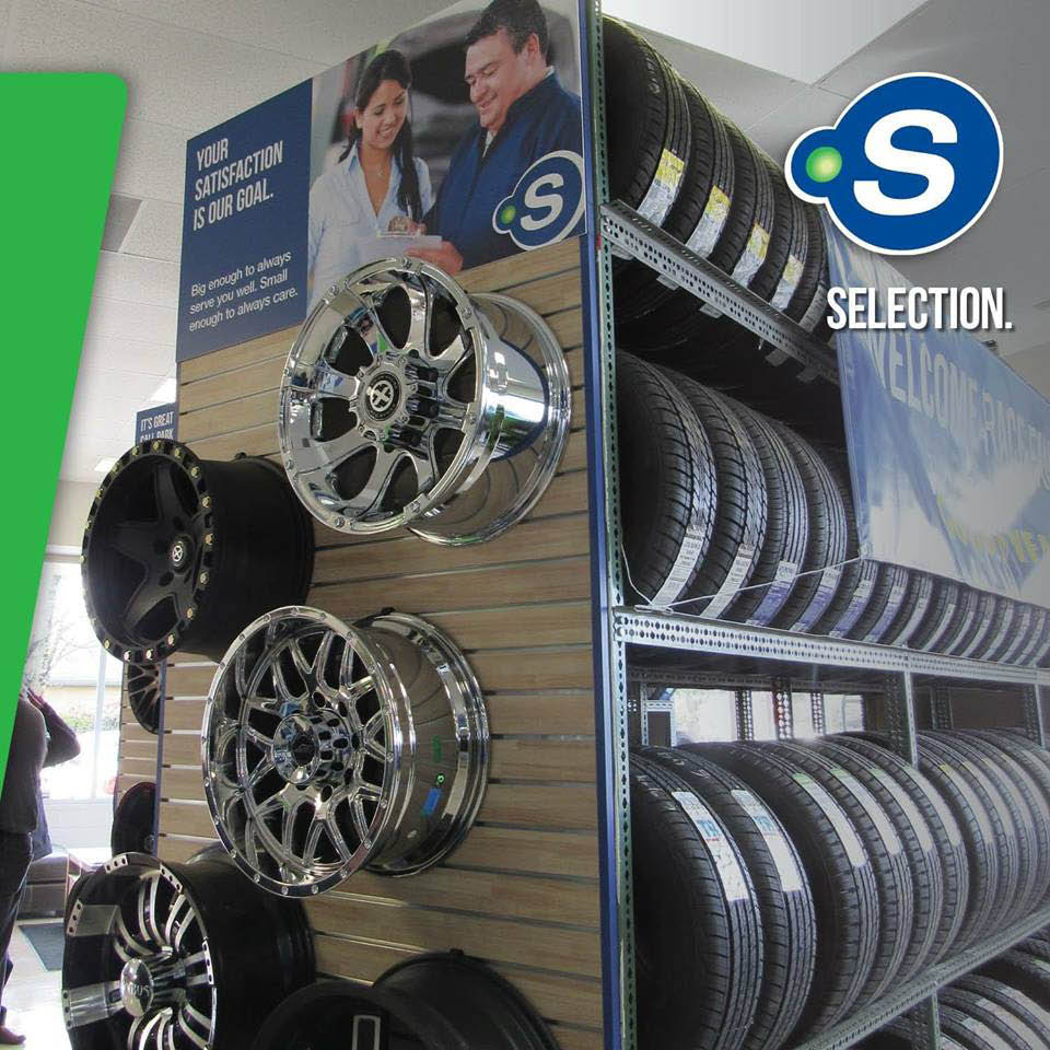 We have a huge selection of tires at Point S Tire & Auto Service in Seatle, WA