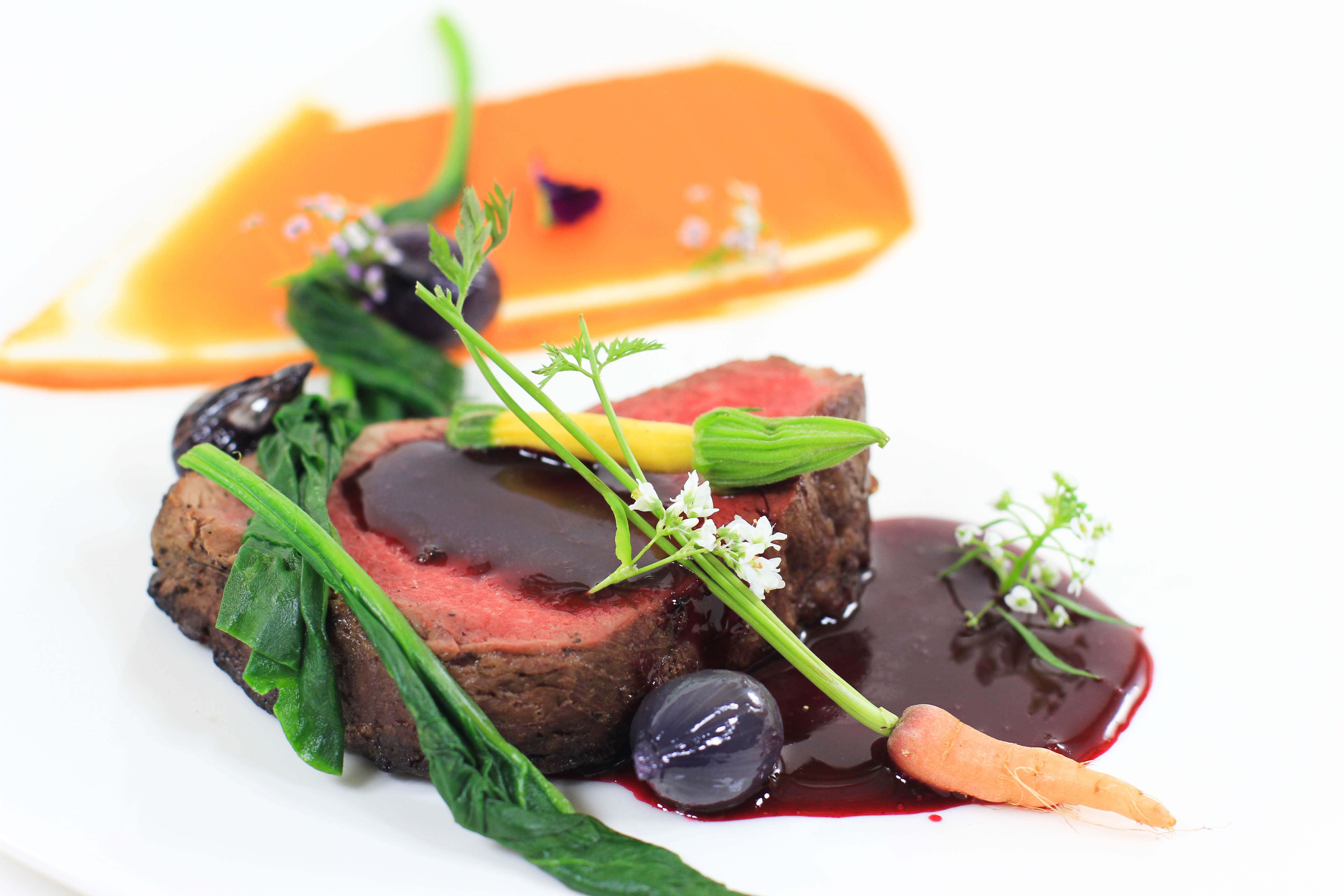 Hult's Restaurant farm to fork dining experience offers five course meals