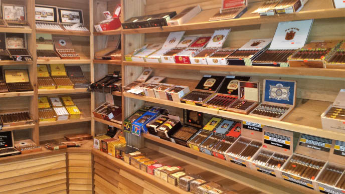 Large Humidor at Firehouse in White Bear Lake, MN