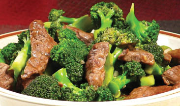 Huna China's Beef with Broccoli in Lincoln Park NJ