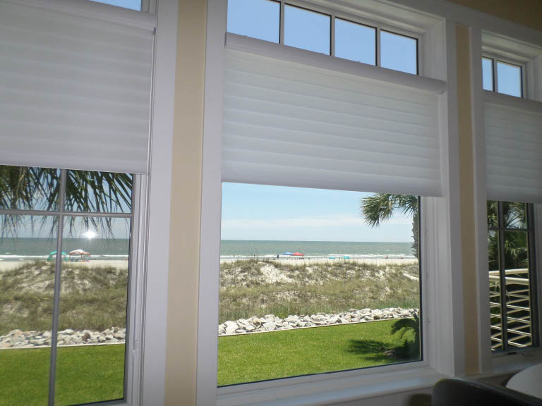 Window treatments near Bluffton