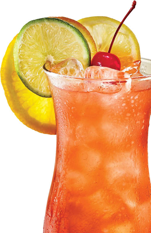 Cold refreshing beverages to take off a little saucy heat
