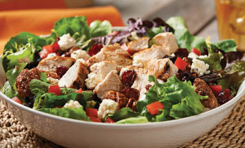 Our popular Hurricane Grilled Chicken salad