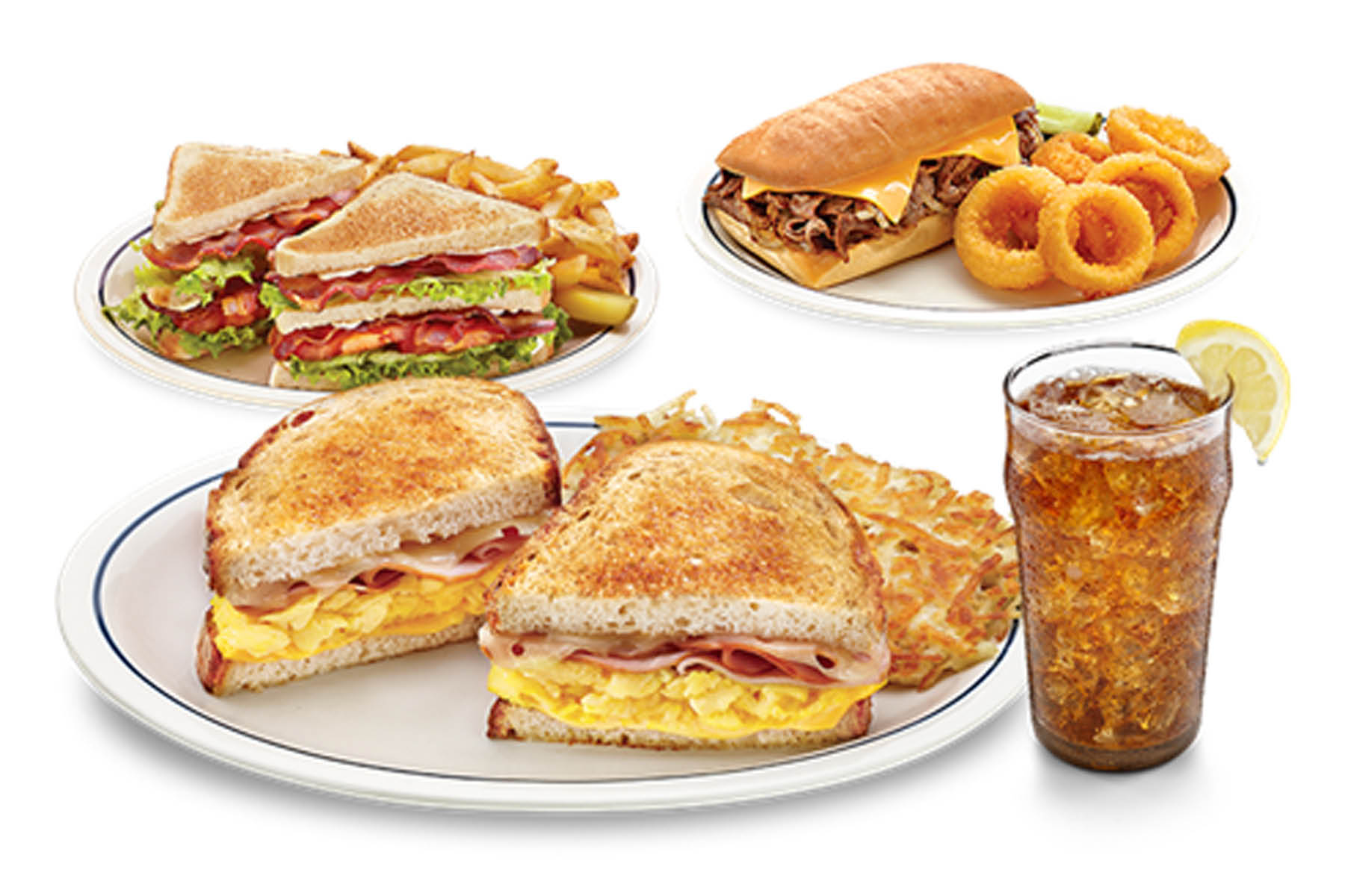 You need to sample IHOP's filling sandwiches anytime night and day.