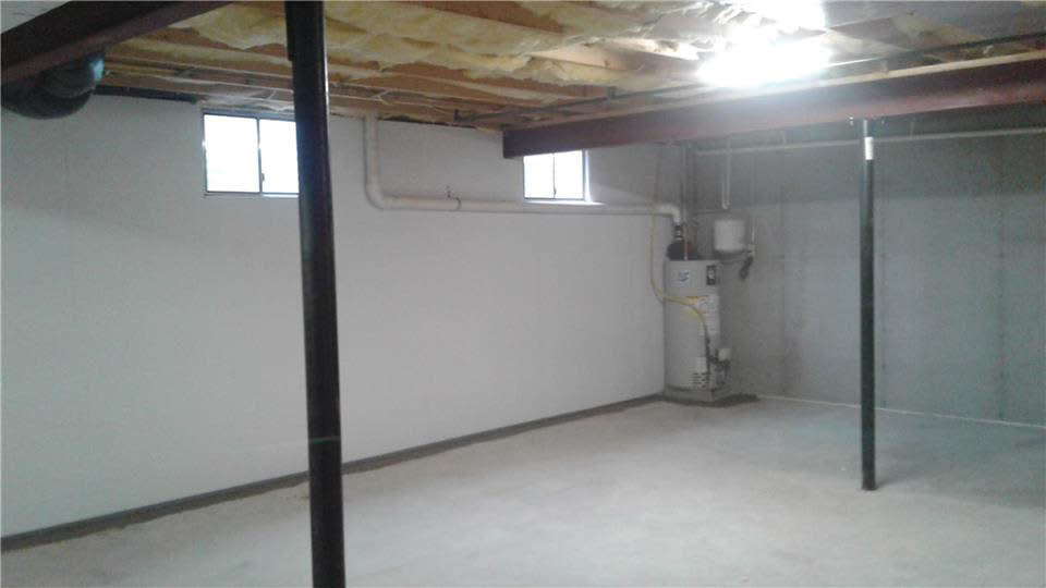 Dry basement serviced by ITG in eastern PA