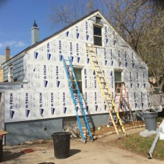 Vinyl siding in Council Bluffs, Columbus, NE