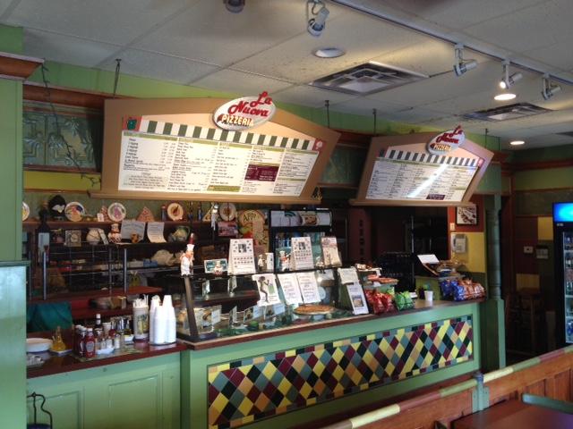 Fresh mozzarella and falafel; pizza shops in Johnston, RI