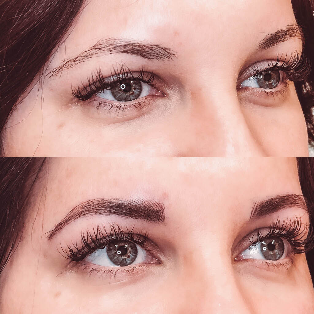 Microblading creates beautiful, realistic eyebrows. Find us in Kaysville, Layton, Clearfield, and Bountiful, Utah.