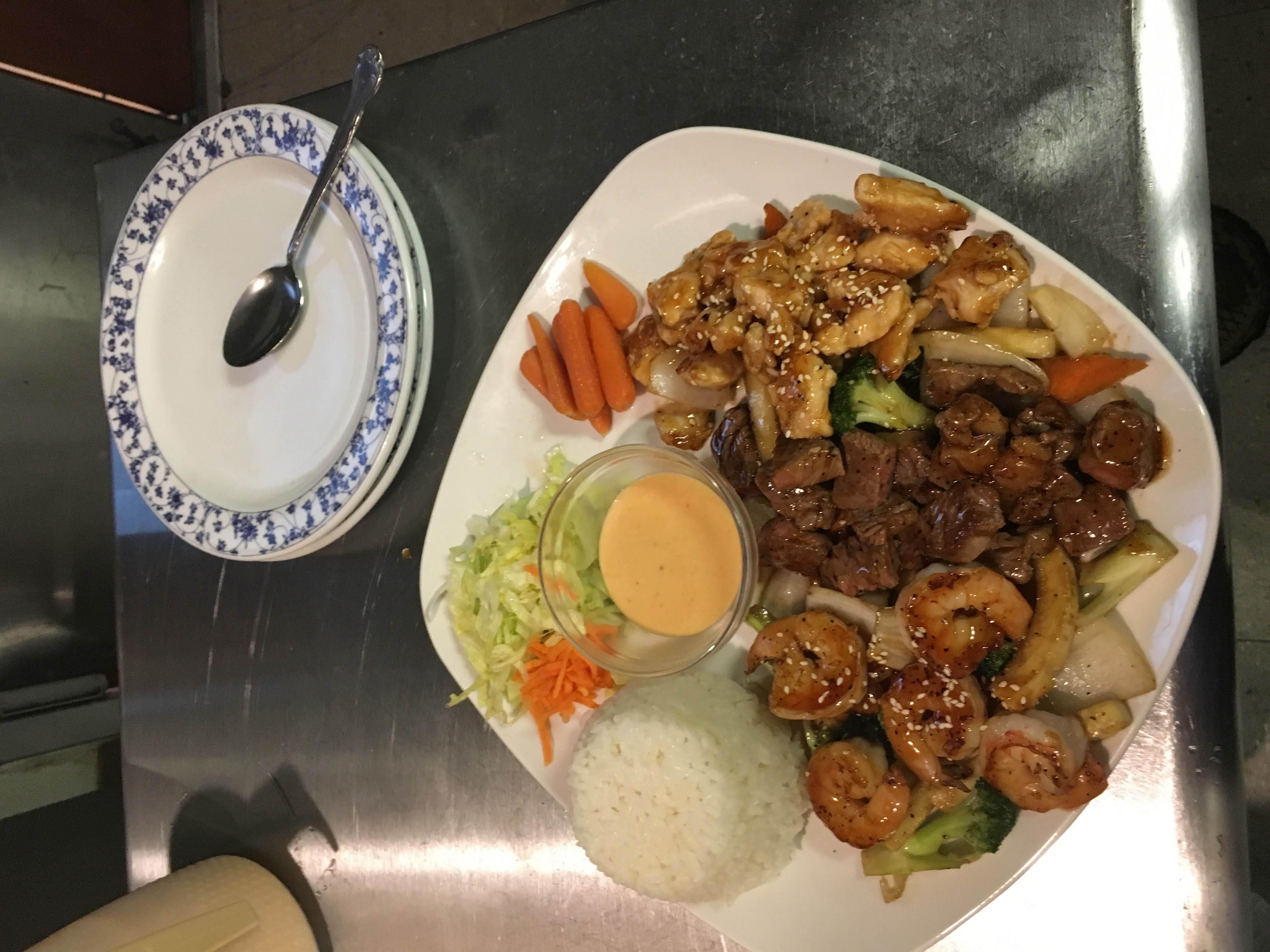 Ichiban Steak & Asian Fusion Steak, Chicken & Shrimp
