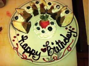 Birthday Celebrations at Il Villagio Restaurant in Morris Plains NJ