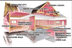 Save energy. Let us add insulation to your home or office.