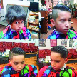 before & after boys haircut