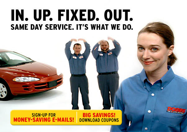 Visit Dobbs Tire & Auto Center for a car oil change and save with our oil change coupons; St. Louis