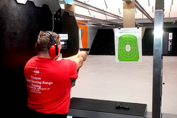Indy Arms Co. Company Indianapolis Pistol Range Shooting Training