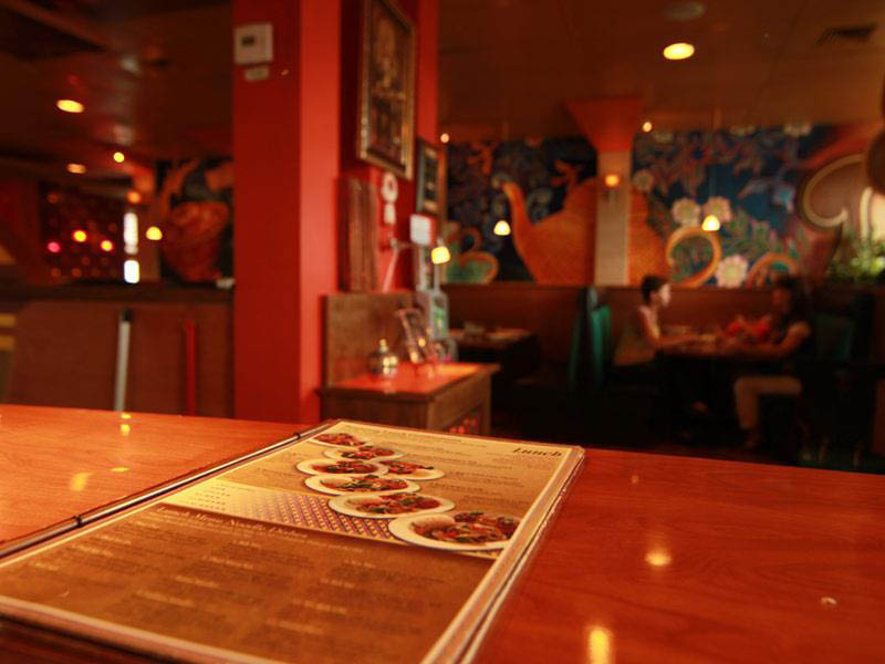Inside Benjarong Thai Restaurant in Monroe, WA - Thai food near me - Monroe Thai restaurants near me - Thai food coupons near me - dining near me