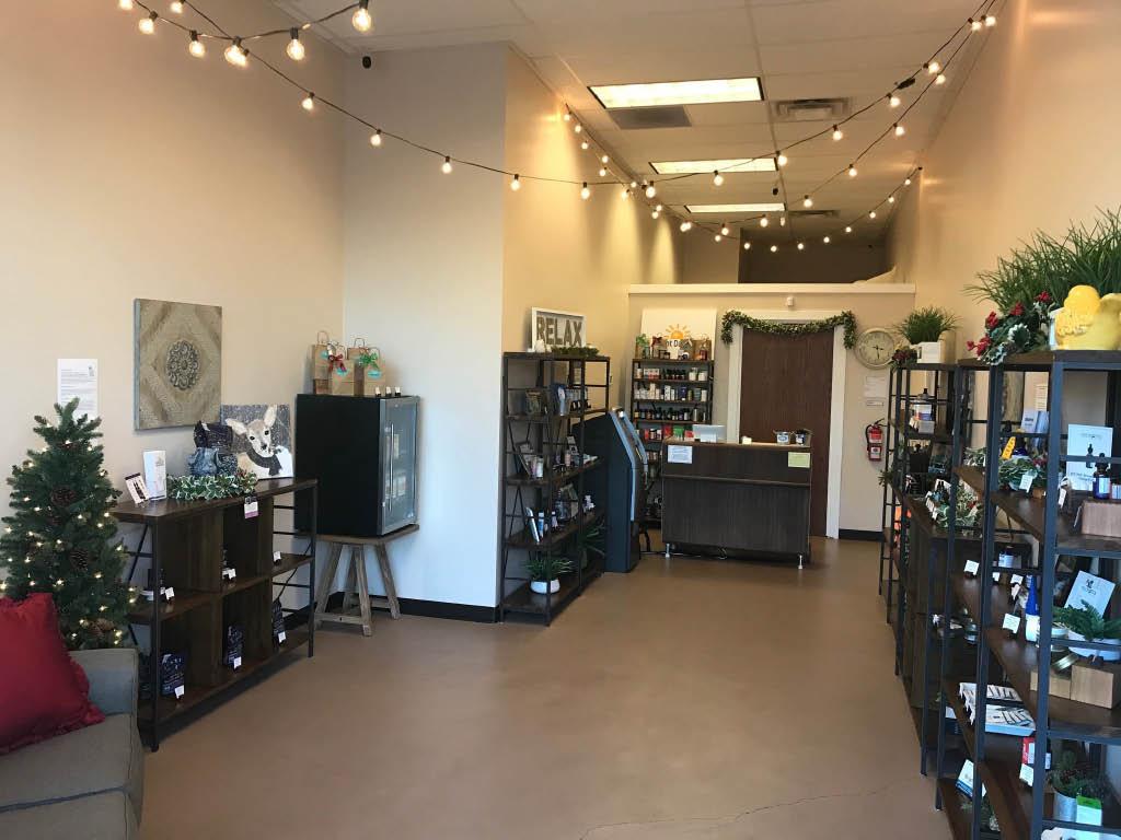 Inside Bright Day CBD store in Tacoma, Washington - Tacoma CBD stores near me - CBD stores in Tacoma, WA - order CBD products online from Bright Day CBD store in Tacoma, WA