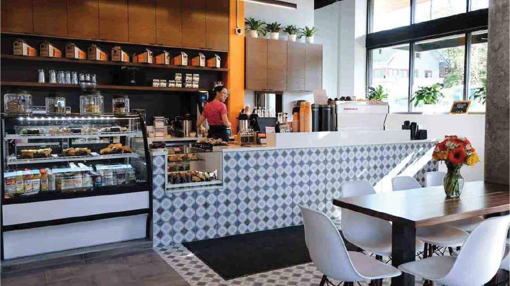 Inside Caffe Ladro Ravenna in Seattle, WA - Seattle coffee shops near me - coffee shops in Seattle - espresso near me - coffee near me